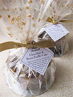 Wrapped in spangled cellophane, a Chocolate & Prune Cake makes a gorgeous gift. All ingredients gluten free and dairy free