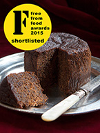 Awarded gold at the Great Taste Awards 2011, this dark, moist, silky-smooth, intensely alcoholic Jamaican fruitcake (gluten-free, dairy-free) is made with organic fruit, finely chopped then soaked in Appleton Jamaica Rum. Sweetened with organic blackstrap molasses, no added sugar. Gluten free, diary free. No nuts included, but not guaranteed free from nut traces. This delicious fruit cake keeps well and matures with age: perfect for sharing with friends and family. Can be posted to addresses in the UK and abroad and delivered by hand in London