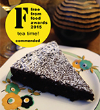 Commended at the 2015 FreeFrom Food Awards, this gluten-free and dairy-free chocolate cake is deliciously fudgy. All ingredients gluten free and dairy free. Nut free also available