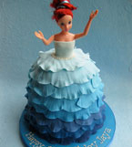 Gluten-free Princess Cake, made with organic, glutenfree ingredients. Delivery in London