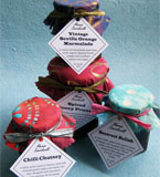Handmade preserves, perfect for family or as a gift. Gift sets available