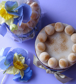 Decorated Glutenfree Simnel Cake For Easter A Zesty Made With Organic Fruit Steamed In Apple