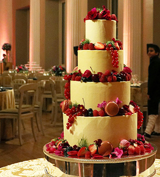 For An Indian Wedding At The Banqueting House, A 4 Tier Glutenfree,  Wheatfree ...